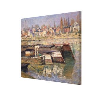 Claude Monet | la Seine chez Asnieres, 1873 Toiles