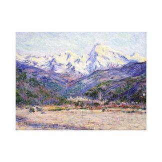 Claude Monet la vallée du Nervia Toiles
