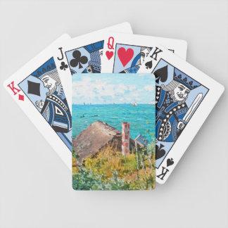 Claude Monet le cabine aux beaux-arts de Jeu De Poker