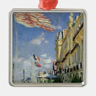 Claude Monet | le DES Roches Noires d'hôtel Ornement Carré Argenté