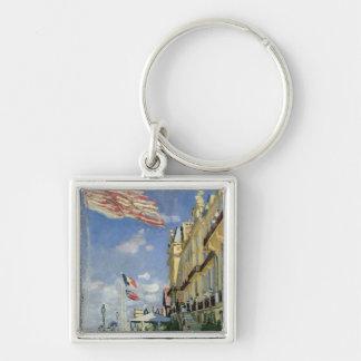 Claude Monet   le DES Roches Noires d'hôtel Porte-clés