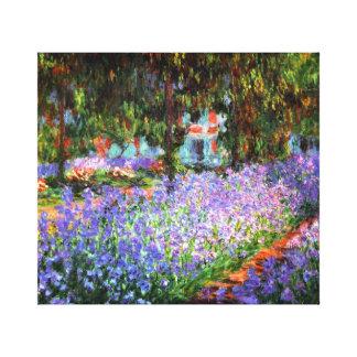 Claude Monet le jardin de l'artiste chez Giverny Toile