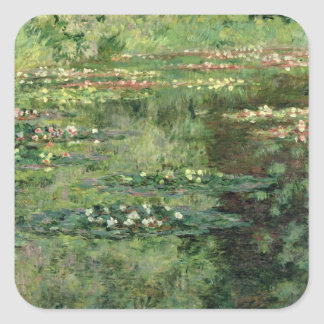 Claude Monet   le nénuphar Pond, 1904 Sticker Carré