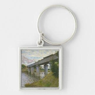 Claude Monet | le pont de chemin de fer à Porte-clés