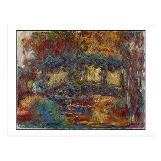 Claude Monet | le pont japonais Carte Postale