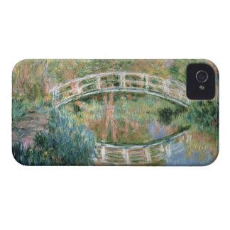 Claude Monet | le pont japonais, Giverny Coque iPhone 4 Case-Mate