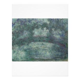Claude Monet - le pont japonais Tract