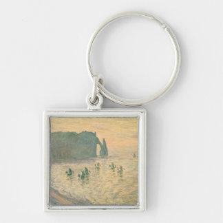 Claude Monet | les falaises chez Etretat, 1886 Porte-clés