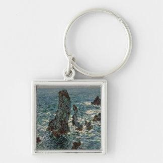 Claude Monet | les roches au Belle-Ile, 1886 Porte-clés