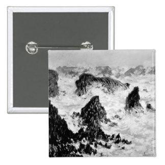 Claude Monet | les roches du Belle-Ile, 1886 Badges