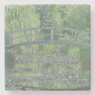 Claude Monet | l'étang de nénuphar : Harmonie Dessous-de-verre En Pierre