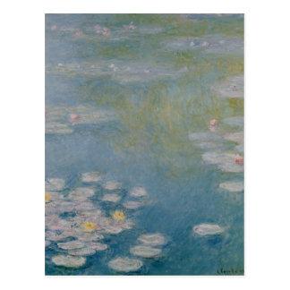 Claude Monet | Nympheas chez Giverny, 1908 Carte Postale