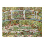 Claude Monet - pont au-dessus d'un étang des nénup