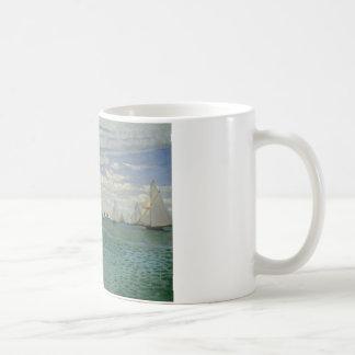 Claude Monet - régate chez Sainte-Adresse Mug
