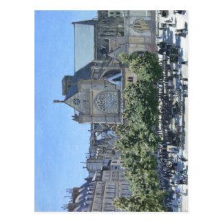 Claude Monet : Saint-Germain-l'Auxerrois Paris, Carte Postale