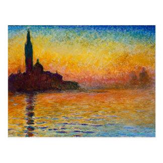 Claude Monet-San Giorgio Maggiore à la carte
