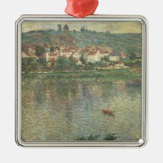 Claude Monet | Vetheuil, 1901 Ornement Carré Argenté