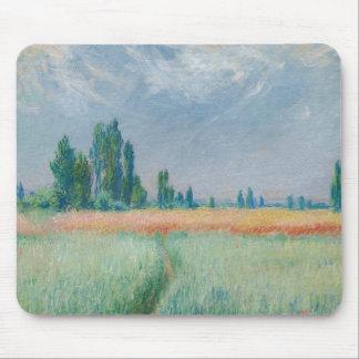 Claude Monet - Wheatfield Tapis De Souris
