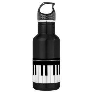 Clavier de piano bouteille d'eau en acier inoxydable