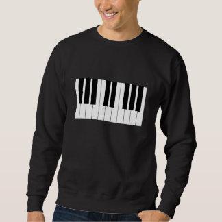 Clavier de piano sweatshirt