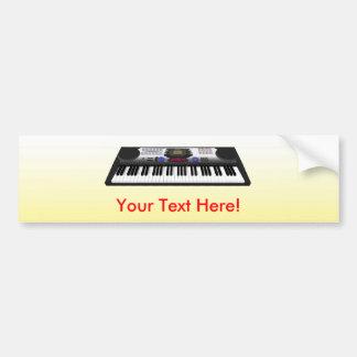 Clavier moderne Synth : modèle 3D : Adhésif pour p Autocollant De Voiture