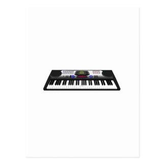 Clavier moderne Synth : modèle 3D : Carte Postale