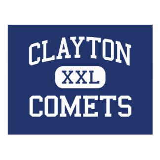 Clayton - comètes - haut - Clayton la Caroline du Carte Postale