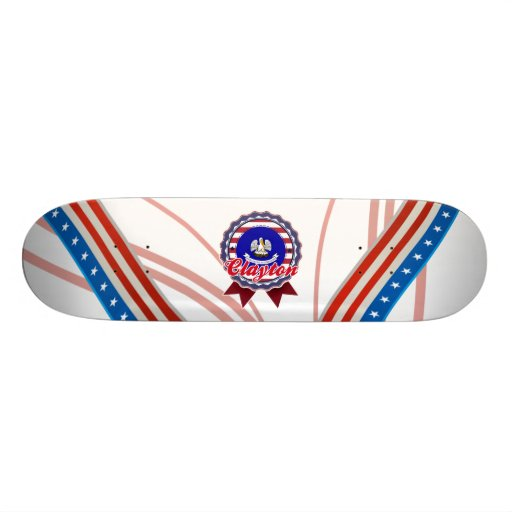 Clayton, LA Skateboards Cutomisables