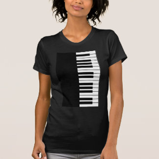 Clé de piano t-shirt