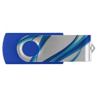 Clé USB Abrégé sur bleu