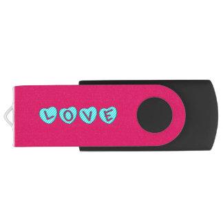 CLÉ USB AMOUR