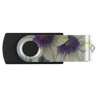 Clé USB Art de fleur de clématite