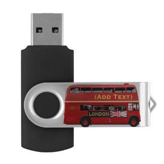 Clé USB Autobus à impériale rouge de Londres