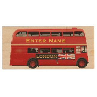 Clé USB Autobus rouge de Londres orienté