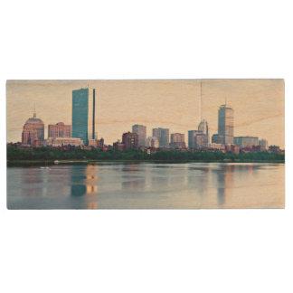Clé USB Baie arrière de Boston à travers Charles River