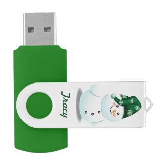 Clé USB Bande dessinée personnalisable de bonhomme de