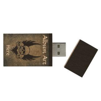 Clé USB Bande faite sur commande marquée USB