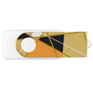Clé USB, Blanc, 8 Gb USB 2.0 Geometrical abstract Clé USB