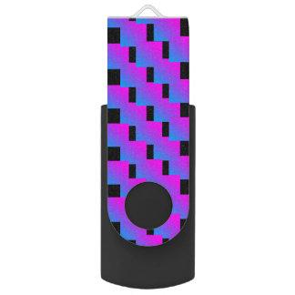 Clé USB Bleu rose génial 4Rona de zigzag