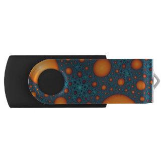 Clé USB Bulles oranges