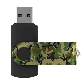 Clé USB Camouflage de région boisée