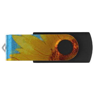 Clé USB Carré de Van Gogh de tournesol