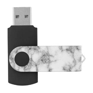 Clé USB commande blanche sans couture d'instantané d'usb