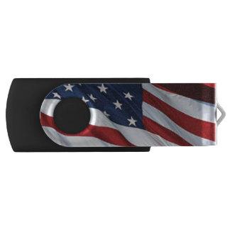 Clé USB Commande d'instantané d'USB de drapeau américain
