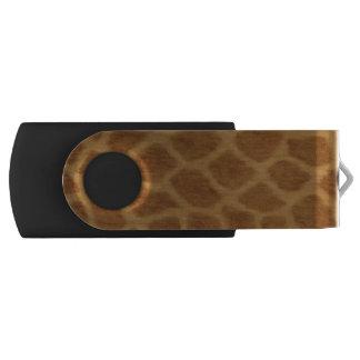 Clé USB Commande d'instantané d'USB d'impression de girafe