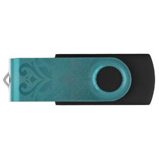 Clé USB Commande grunge d'instantané d'USB de damassé de