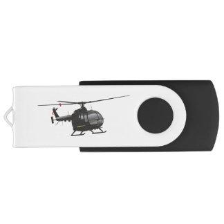 Clé USB Commande légère allemande noire d'instantané