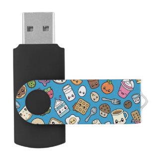 Clé USB Commande mignonne d'instantané d'USB de nourriture