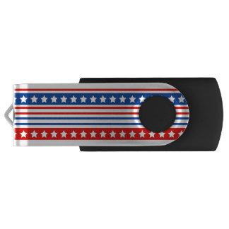 Clé USB Commande patriotique d'instantané d'USB