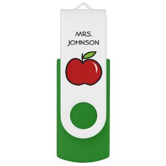 Clé USB Commande rouge d'instantané d'USB de pomme de